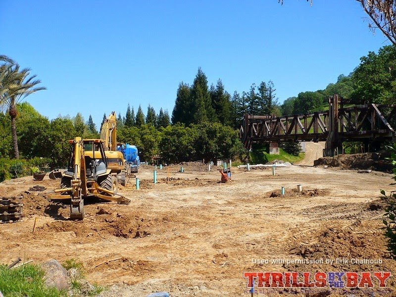 Thrills By The Bay Gilroy Gardens Water Oasis In Progress