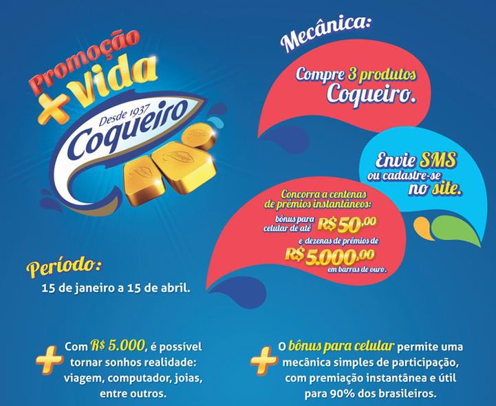 Promoção Coqueiro 2015 Mais Vida Coqueiro
