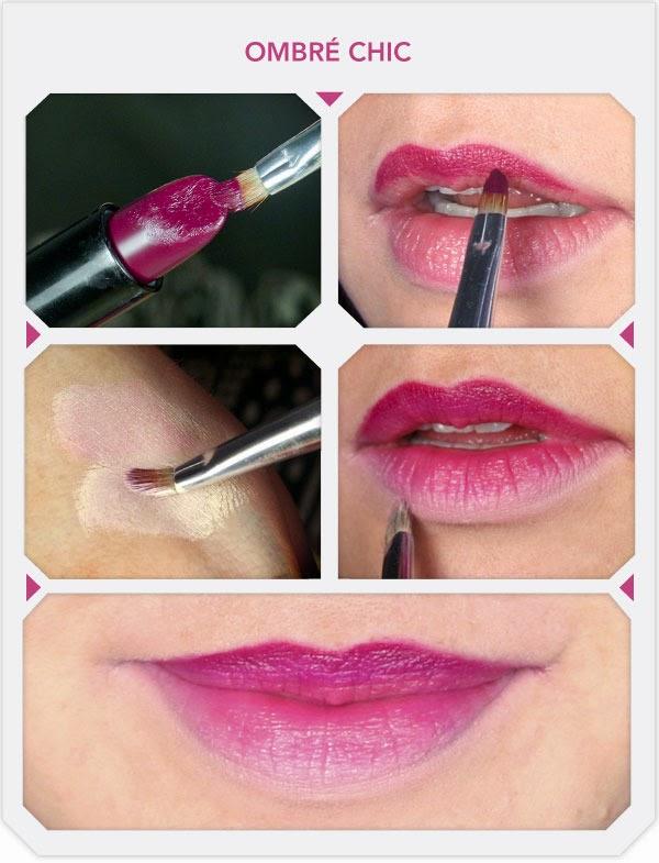 Как сделать губы уже макияж