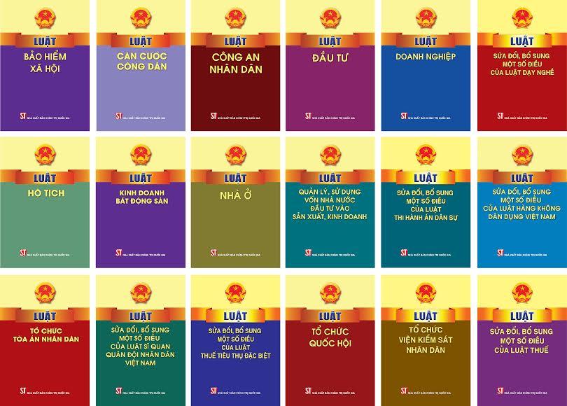Sách luật TP HCM