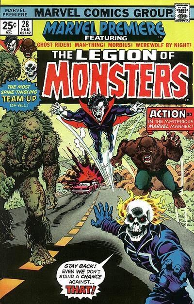 Portada de Marvel Premiere 28-Legion de los Monstruos