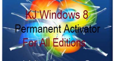 Windows 8 permanent KJ Activator Download