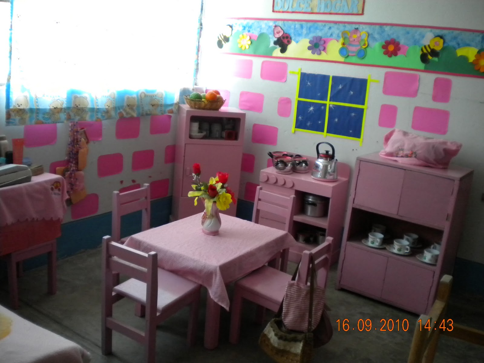 Cuna jardin n 630 juan pablo ii ambientaci n del aula for Como decorar el hogar
