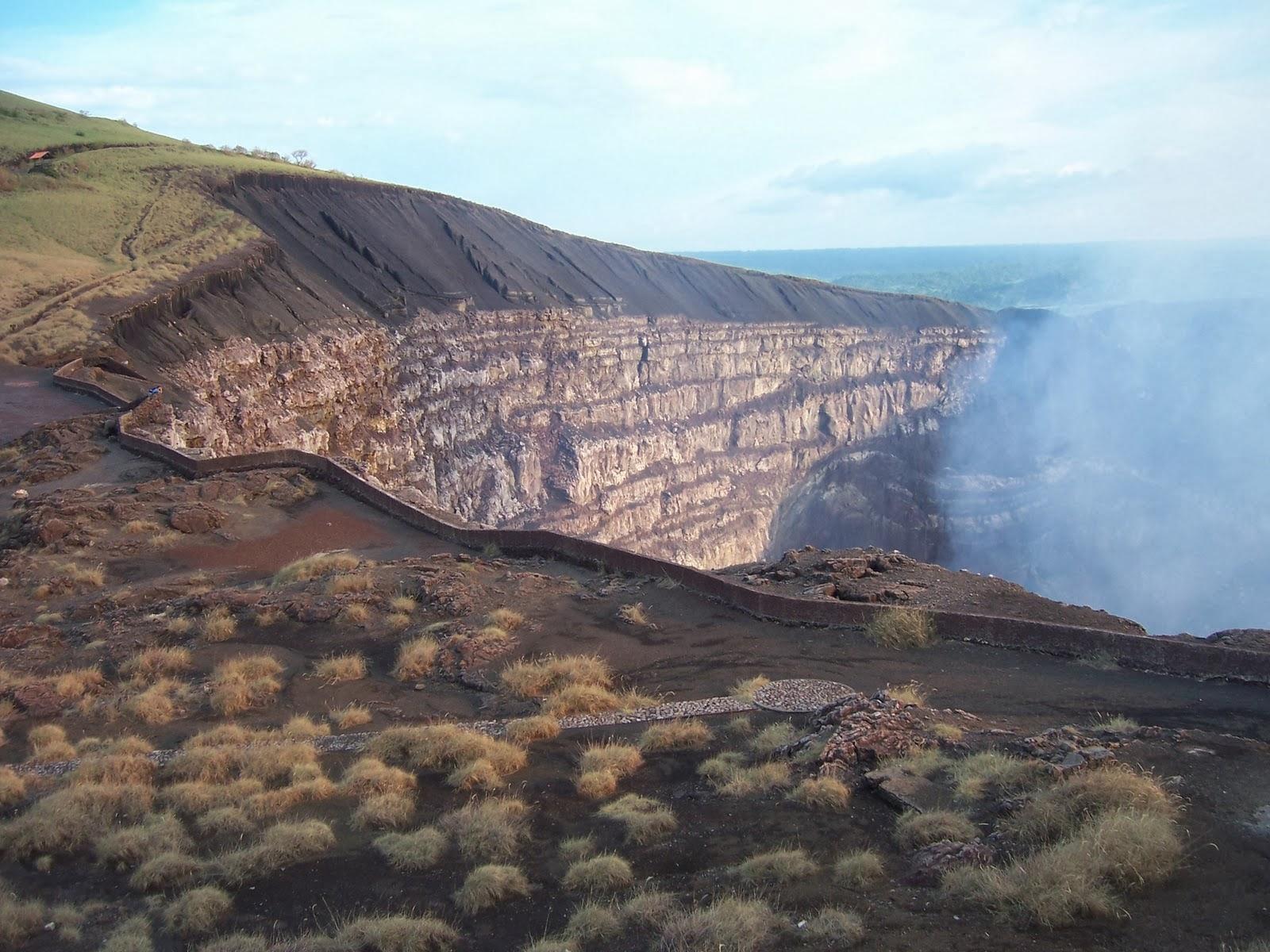 Masaya vulkanen i Nicaragua