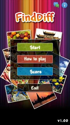 FindDiff Puzzle Game on Nokia 5800 XM