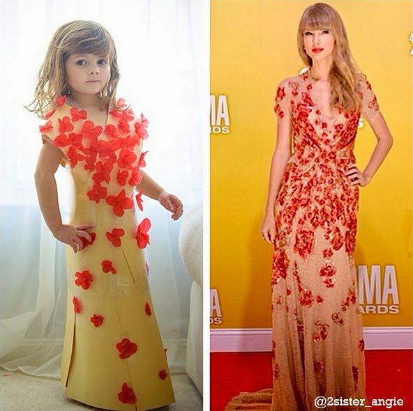 Taylor Swift's dress at CMA Awards in Nashville