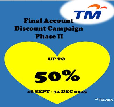 Tawaran Diskaun Oleh TM
