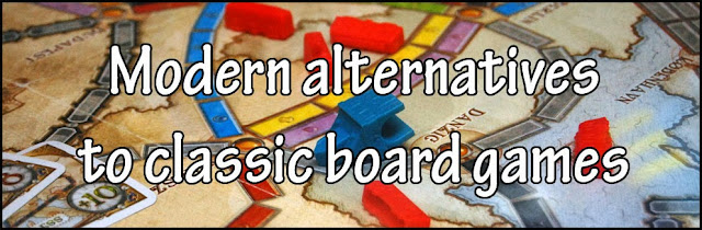 Modern alternatives to classic board games