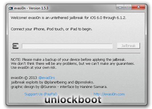 Download Evasi0n 1.5.3