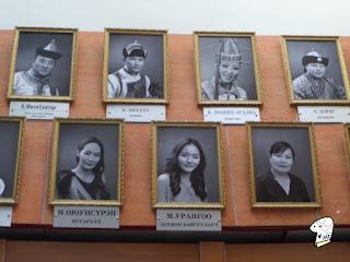 Portraits of the Tumen Ekh performance troop 3