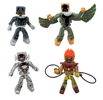 Marvel Minimates Villain Zombies vs. Age of Ultron Secret Wars Box Set