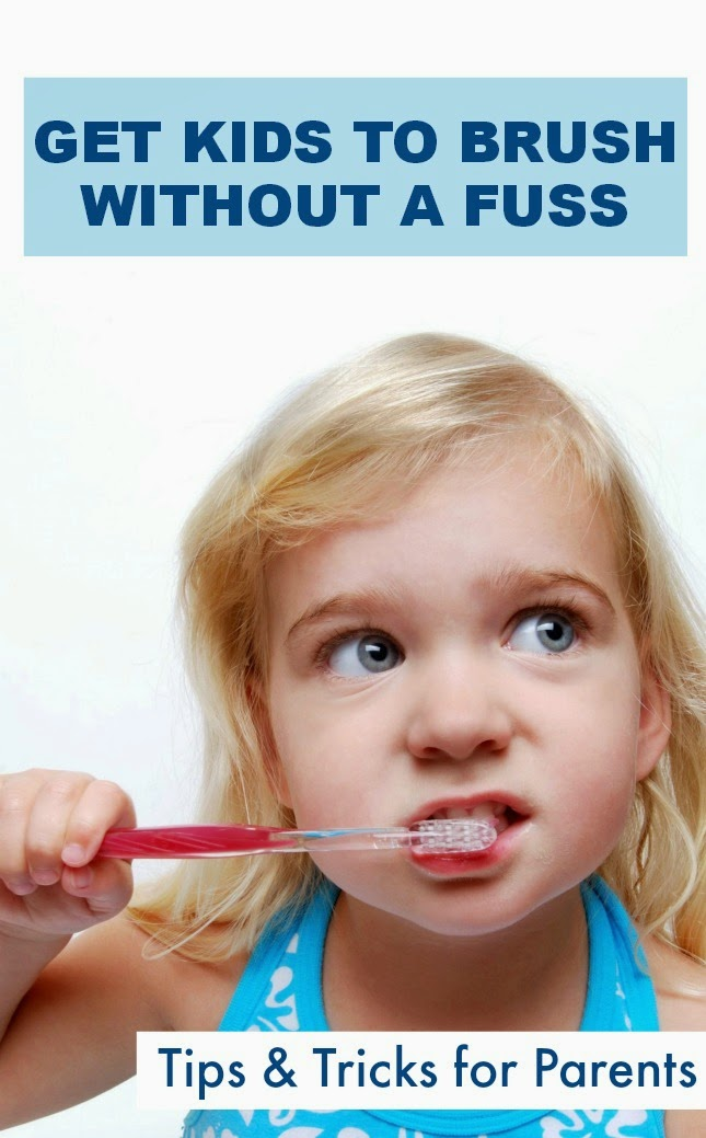 Tips & tricks for getting kids to brush their teeth without a fuss- These tips help children to enjoy the process, fostering a lifelong healthy habit!