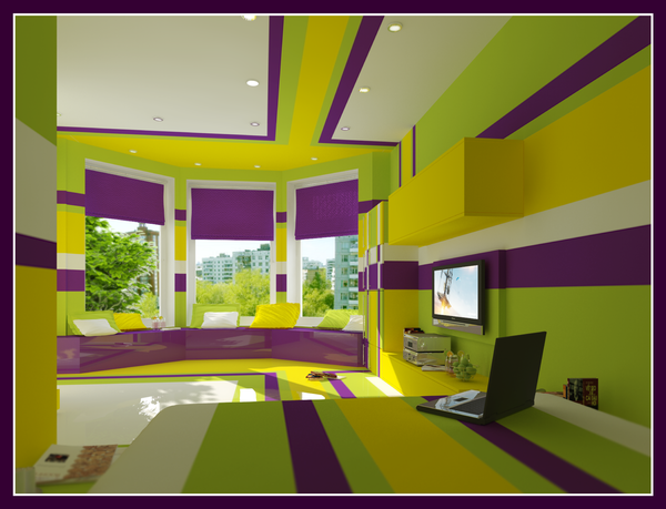 Green Purple Bedroom Ideas Pictures Remodel And Decor