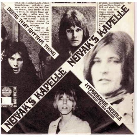 Novak's Kapelle Hypodermic Needle /  Doing That Rhythm Thing 45 (1968)