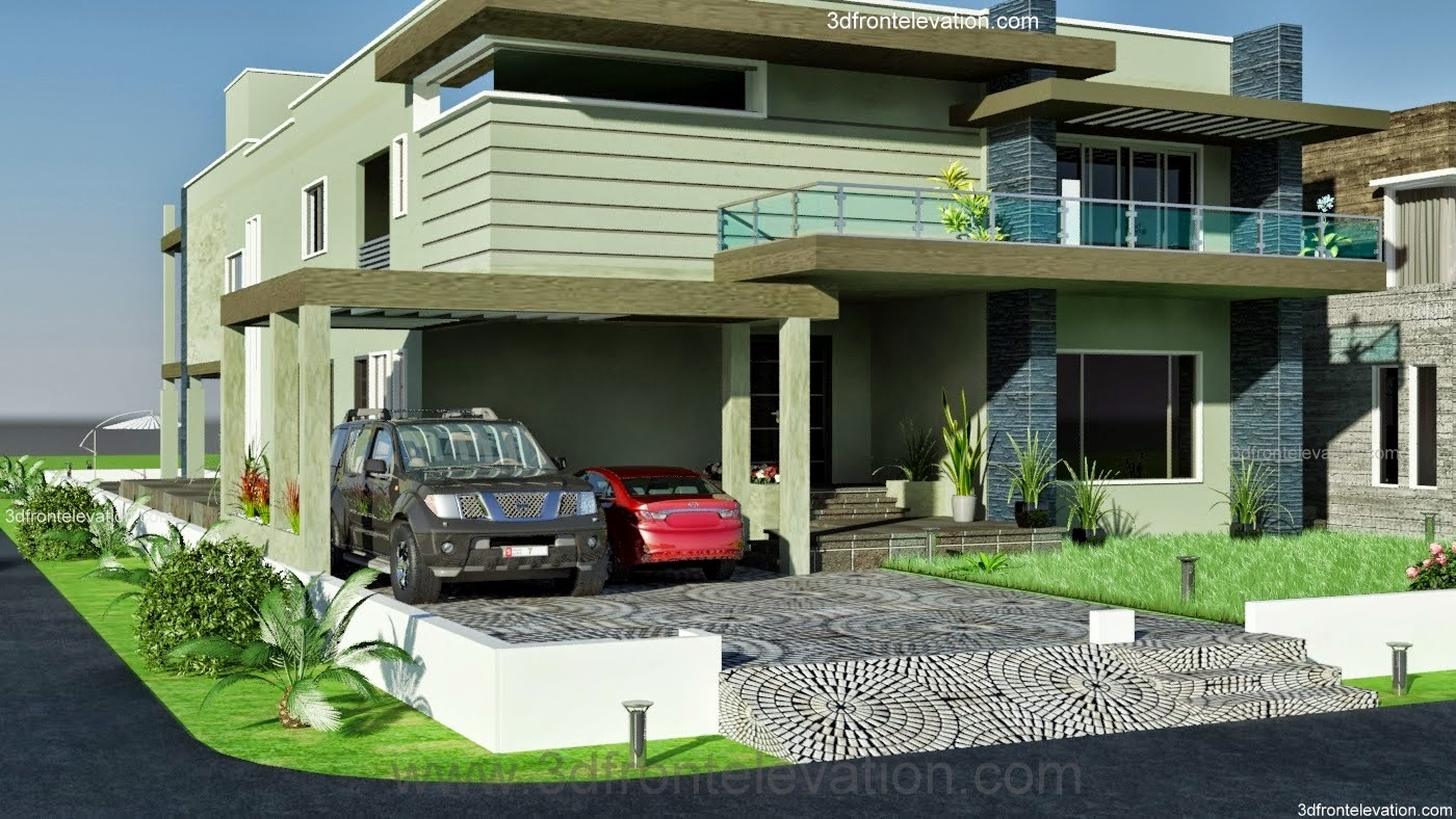 Front Elevation Karachi : Front elevation of house in karachi joy studio design
