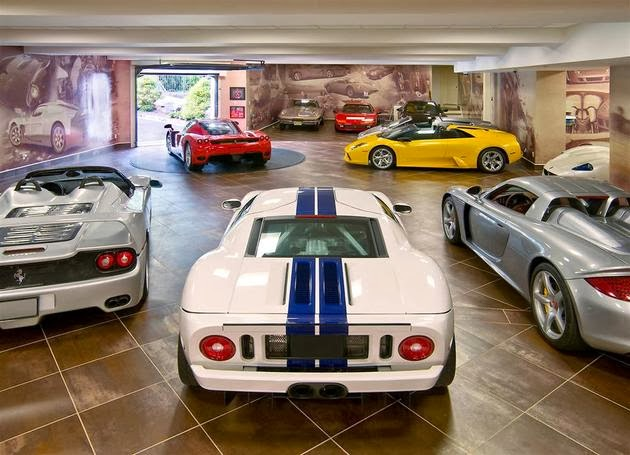 Inside Million Dollar Garages