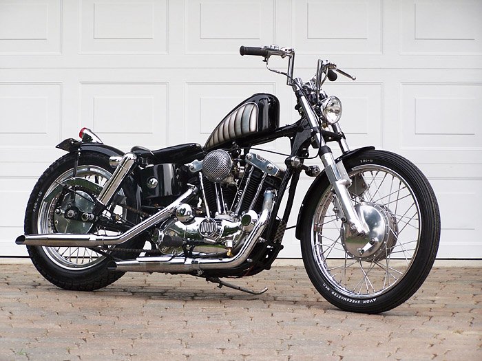 Ironhead Sportster Chopper