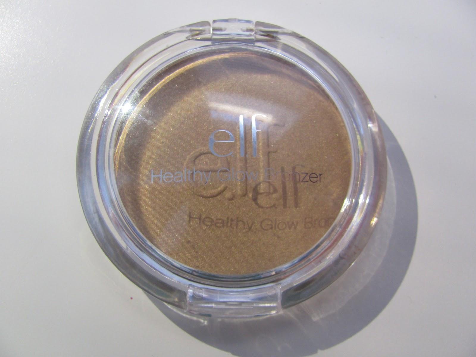 Elf Healthy Glow Bronzing Powder Sunkissed; Review ...
