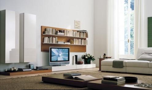 Modernos y lujosos muebles para tv para el living room o - Muebles de salita de estar ...