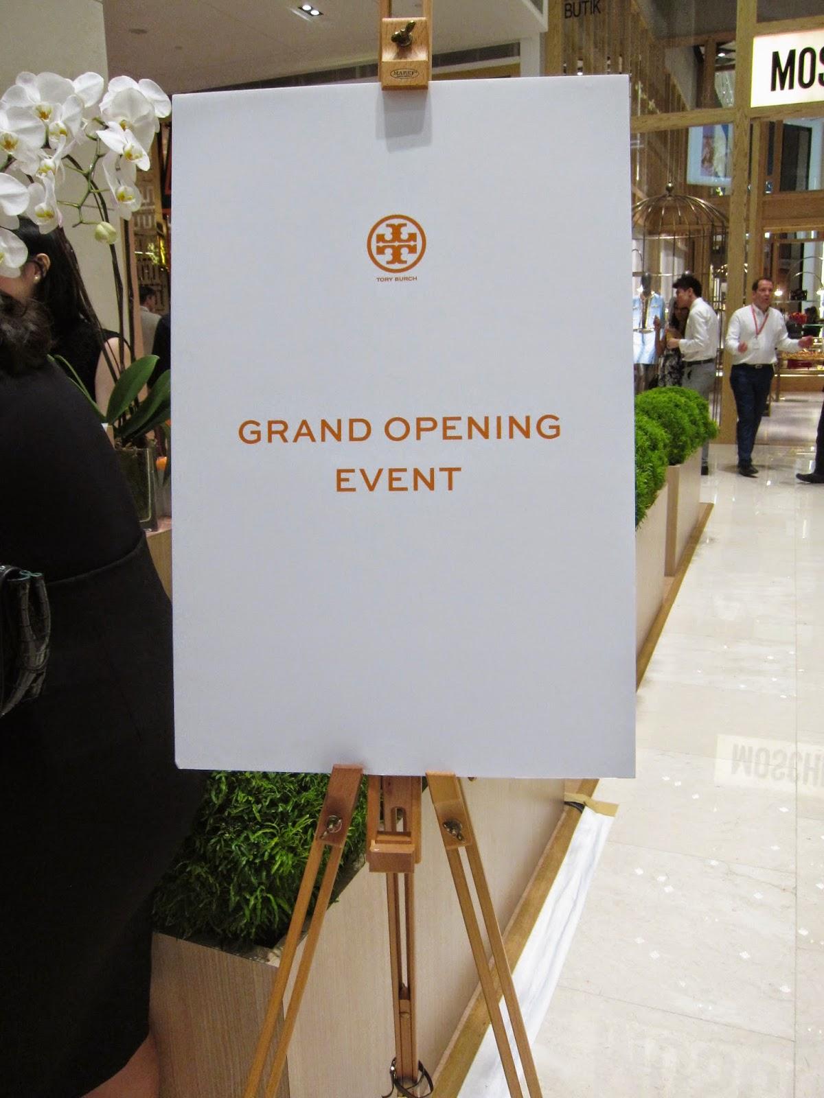 Event Post: Tory Burch Store Launch @ Pavilion KL