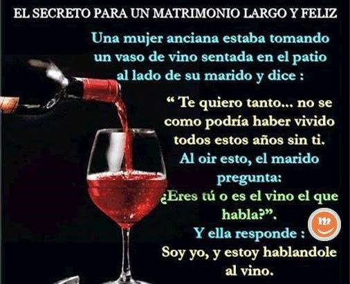 Matrimonio y vino