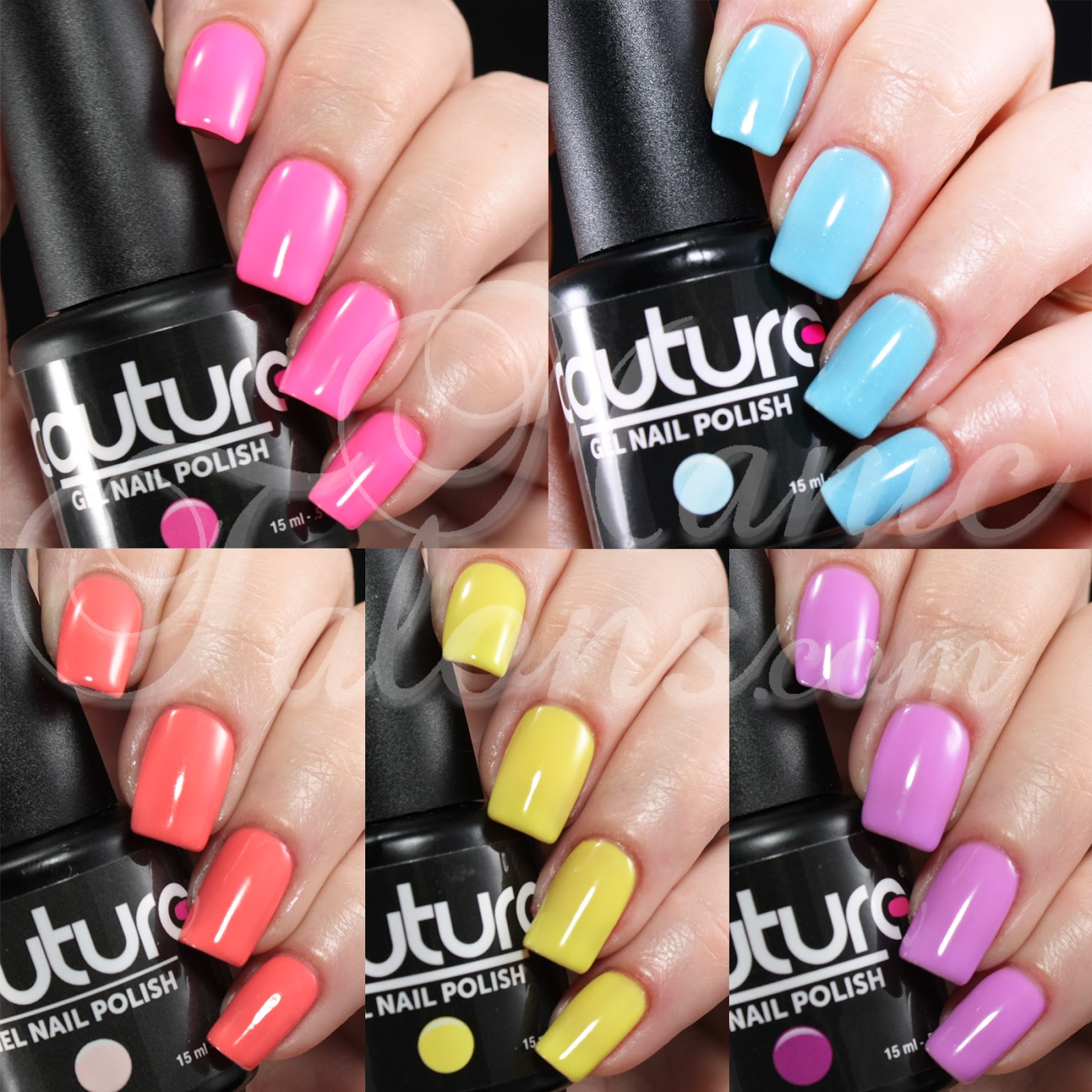 Bright And Fun Colors From Couture Gel Nail Polish
