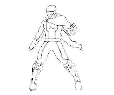 #10 Cyclops Coloring Page