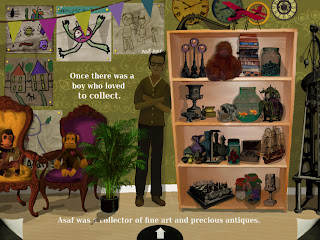 Screenshot of page 1 after interaction, of The Artifact apps for iPad