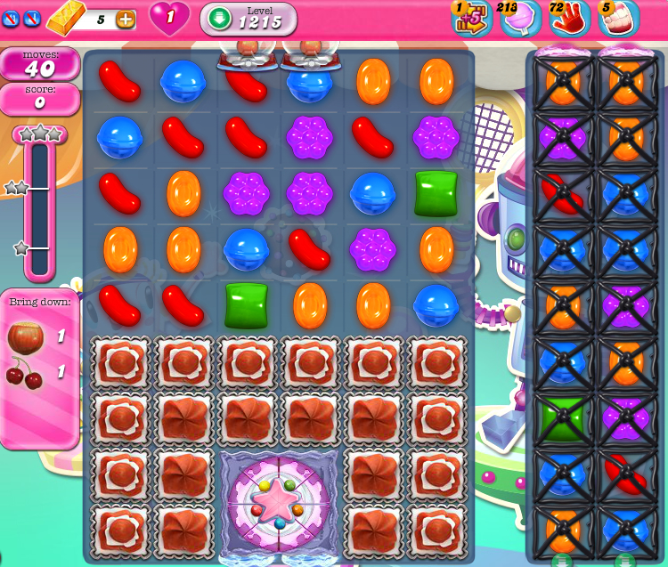 Candy Crush Saga 1215