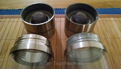 Thermo-Teeglas DIE ZWEI und DIE DREI von tepiano
