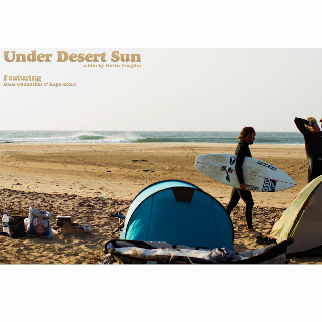 Under Desert Sun premieres in Barcelona | Kepa Acero & Dane Gudauskas in Angola