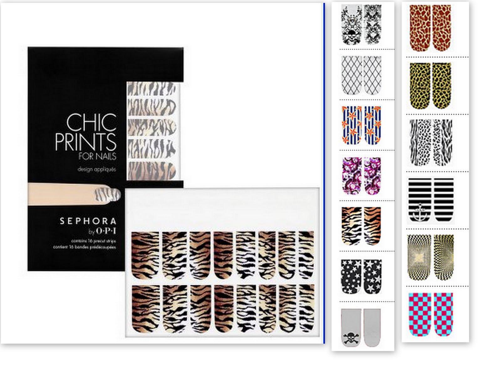 Sephora-Nail Sticker