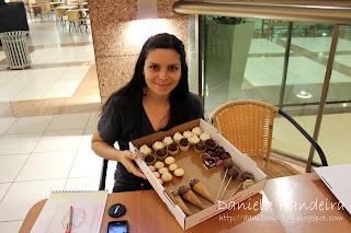 Curso de Doces, Brasília, Tathyana Abreu, Brigadeiro, Gourmet, Cakepop, Cupcake, Daniela Bandeira