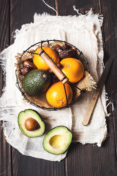Avocado, Oranges and Dates
