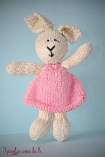 Herika con la h - amigurumi maglia coniglio coniglietto knit rabbit