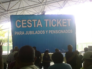 JUBILADOS Y PENSIONADOS SOLICITAMOS BENEFICIO DE CESTA TICKET