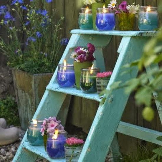 Подставка-лесенка для цветов своими руками
