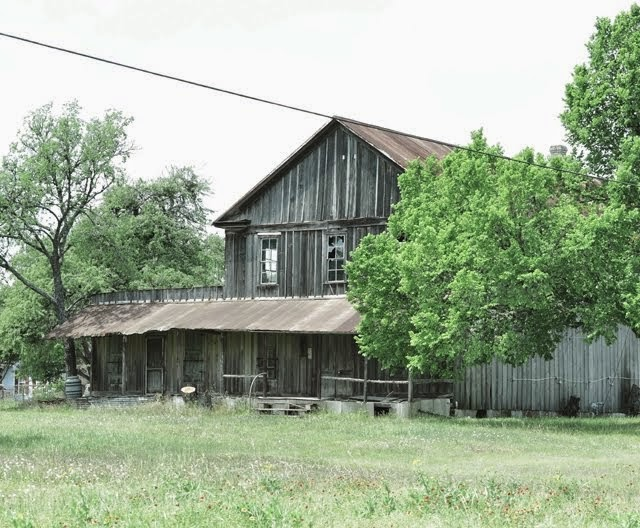 Ottine, Texas, old Post Office and Store