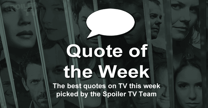Quote of the Week - 20th April, 2014
