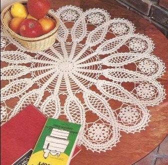 """Tapete """"Prestigio"""" a Crochet"""