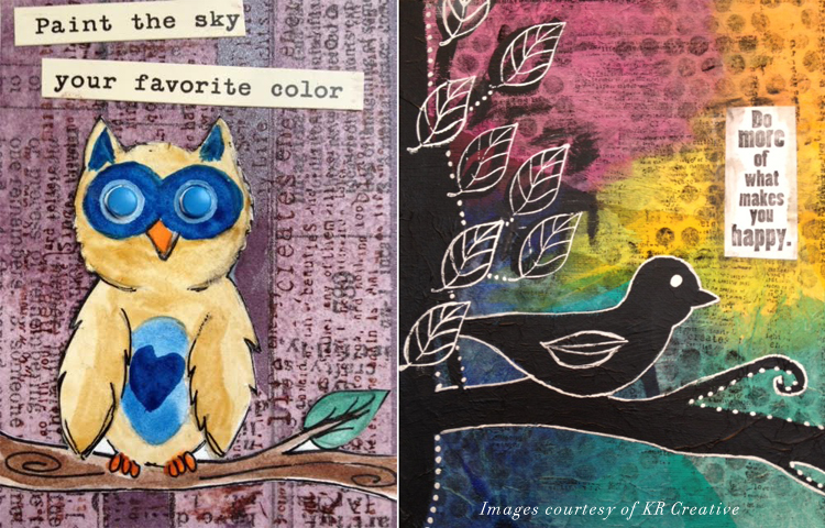 5 Ways to Practice Self-Love w/ Art | Artist Trading Cards (ATC's) by Katie of KR Creative