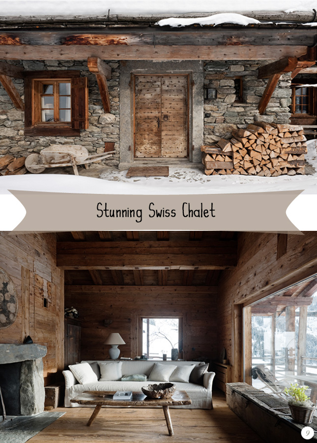 Swiss chalet on pinterest chalet style chalets and cabin - Chalet deco ...