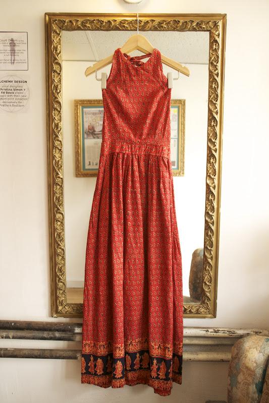 Fabulous Indian Cotton Dresses Feathers Boutique Vintage