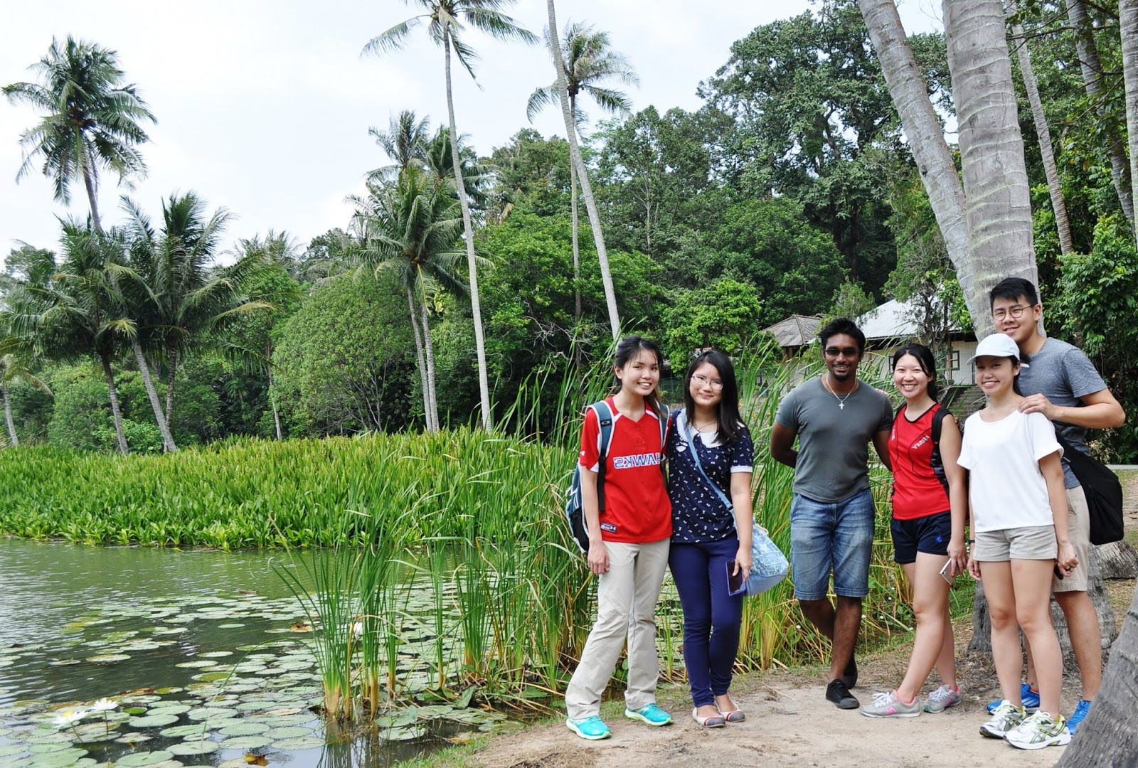 Love Gone Wild at Pulau Ubin!