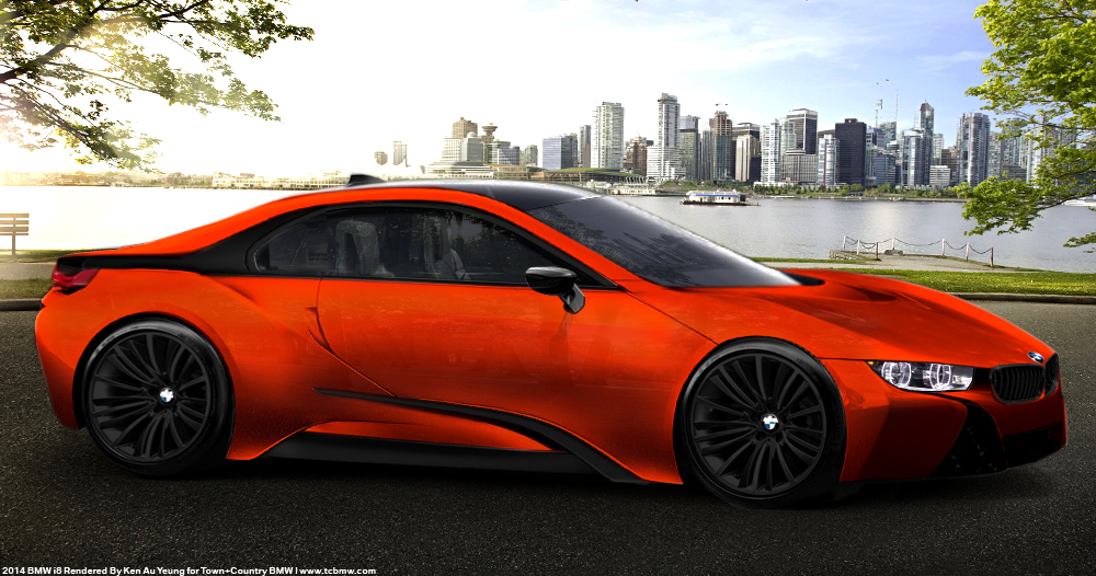 new bmw i8 coupe production renders town country bmw. Black Bedroom Furniture Sets. Home Design Ideas