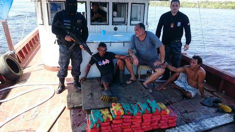 70kg de cocaína em embarcação oriunda de Coari