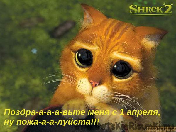 Детские Рисунки котик день смеха фотошоп переделка