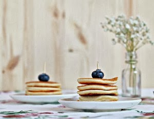 Pancakes - KitchenWIP - Food Photography Friday Featuring tenthousandthspoon