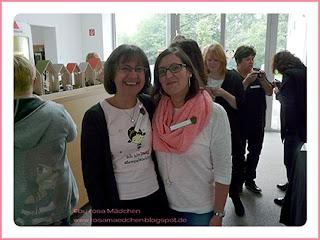 Stampin' Up Rosa Mädchen Kulmbach Teamtreffen Jenni Pauli Helga Hopen Sigrid Joch Sigrids kreative Art