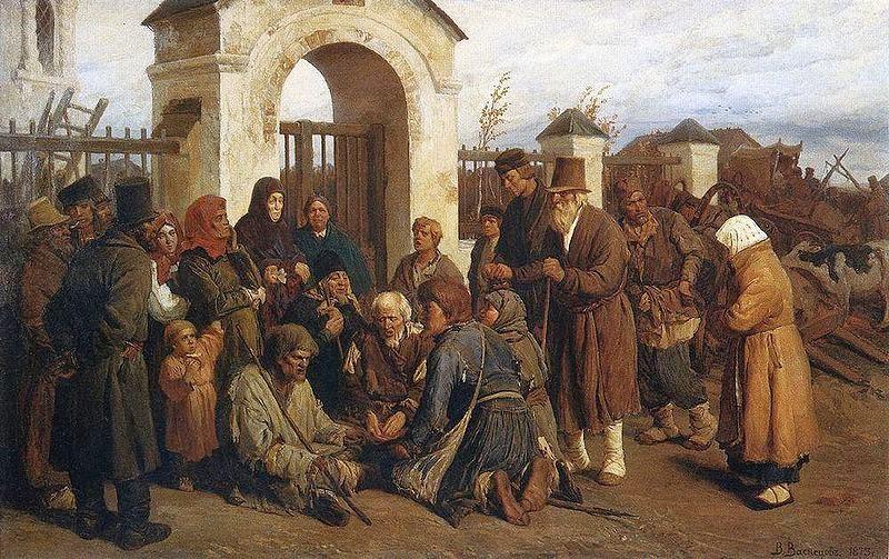 В.Васнецов Нищие певцы-богомольцы